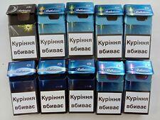 Empty Different Collector's Set Cigarette Packs ROTHMANS - 10 pcs. NO TOBACCO!