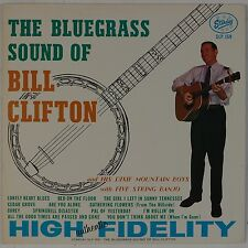 BILL CLIFTON: The Bluegrass Sound USA STARDAY Gusto Country Bluegrass LP NM