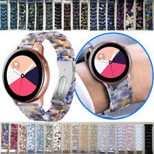 20mm 22mm Resin Watch Band For Samsung Galaxy Bracelet Wrist Strap Luxury Women