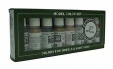 AV Vallejo Model Color Set - Metallics 17ml (x8) bottle paint set VAL70118
