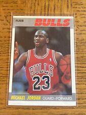 1987-88 Fleer Michael Jordan #59 Base Great Color! RAW! Original!