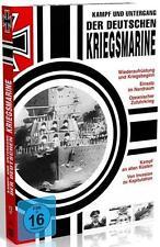 Der Kampf und Untergang der deutschen Kriegsmarine (DVD Box) Teil 1-3