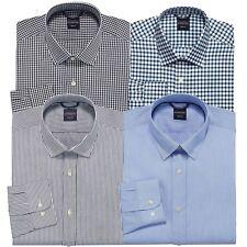 New Dockers Men's Battery Street Trim-Fit Spread-Collar Dress Shirt MSRP $50