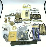 US Military Medals Ribbons Devices & Insignia Lot of over 140 Pieces