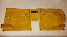 10 Pocket Carpenter's Leather Tool Belt