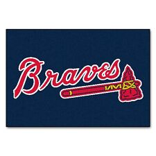 "Fanmats MLB Atlanta Braves Rookie Mat, Area Rug, Bath Mat 20""x30 Del. 2-4 Days"