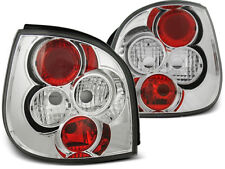 REAR TAIL LIGHTS LTRE08 RENAULT SCENIC 1999 2000 2001 2002 2003 CHROME
