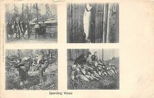 POSTCARD   SPORT   SPORTING  VIEWS   Fishing  Related  CANADA