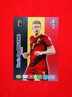 Panini Adrenalyn XL Road to UEFA Euro 2020 Premium Gold kevin de bruyne Belgium