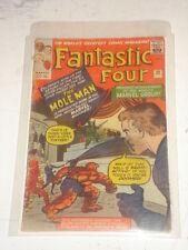 FANTASTIC FOUR #22 G- (1.8) MOLE MAN JANUARY 1964 JACK KIRBY*