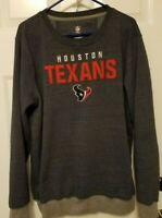 Houston Texans NFL Pro Line Sweatshirt Size XL Embroidered Logo