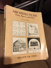 Architecture Form, Space, And Order, Francis D.K. Ching, 2nd Edition, 1996
