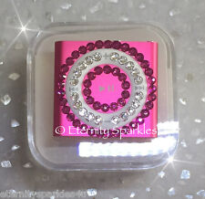 Customised Crystal Design Pink 5th Gen (Latest Model) 2GB Apple iPod Shuffle