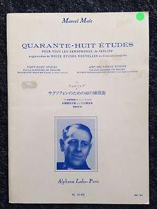 Quarante-Huit Etudes - 48 studies for all saxophones (Shop display)