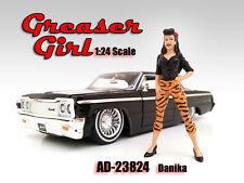 """Figur """"Tiger Danika"""" Greaser Girl, American Diorama Figur 1:24, AD-23824"""