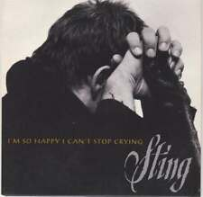STING (USA 1 TRK PROMO CARD SLEEVE CD '96) I'M SO HAPPY I CAN'T STOP CRYING