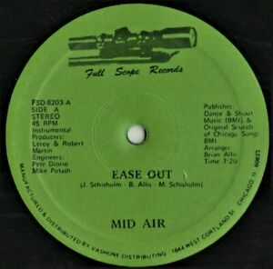 "12"" BOOGIE - Funk     MID AIR   ease out  1982   REISSUE"