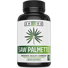 Pastillas Para La Próstata De Saw Palmetto - Mejor Remedio Natural Para Próstata