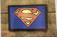 Superman Classic Morale Patch Military Tactical Army Flag USA Hook Badge