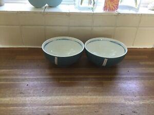 Portmeirion - Coast Cereal Bowls X2. Brand New.