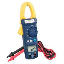 Amperímetro / Pinza amperimétrica / Multímetro / Comprobador de tensión PCE-DC41