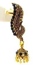 EAR CUFF Golden Oxidized Earring Jhumka Jhumki Ethnic Jewelry Long Dangle E43