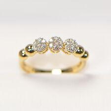 NEU Diamantring 0,26 ct in 750er Gelbgold Ringgröße 54 Verlobungsring Brillanten