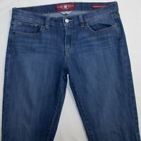 Lucky Brand Womens Blue Charlie Baby Boot cut Dark Wash Jeans Size 10 / 30