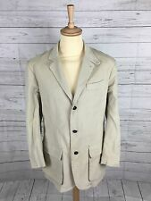 Mens Dunhill Corduroy Jacket/Blazer - Large - Beige - Great Condition