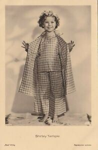 Shirley Temple Antique Vintage Ross Real Photo Postcard 1942s