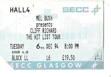 CLIFF RICHARD SECC 1994 Used Ticket Stub