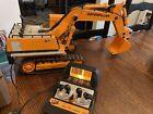 Vintage 1988 New Bright Cat Excavator 245 Caterpillar Radio Control Works Read