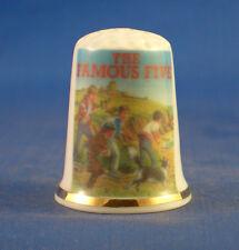 Birchcroft China Thimble -- Enid Blyton The Famous Five -  Free  Gift Box