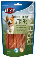Pet Dog Puppy Treats Snack Food Cheese Chicken Stripes - Gluten Free by TRIXIE