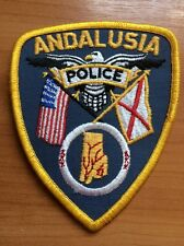 PATCH POLICE ANDALUSIA ALABAMA AL STATE