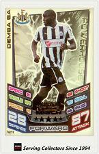 2012-13 Match Attax Man Of Match Foil Card #427 Demba Ba (Newcastle Utd)