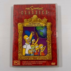 The Simpsons Against The World (DVD 4 episodes) Region 4