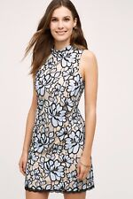 NWT Tracey Reese Anthropologie Lin Lace Dress 10P - Blue