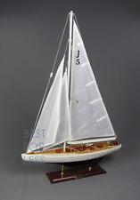 Segelboot Segelyacht Segelschiff Modell Standmodell Ranger Maritime Dekoration