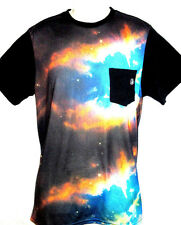 MENS VOLCOM GALAXY NEBULA POCKET T-SHIRT SIZE M