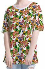 Papagei Kurzarm Damen-T-Shirts in Größe 2XL