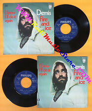 LP 45 7'' DEMIS ROUSSOS I know I'll do it again Fire and ice 1971 no cd mc dvd