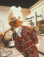 """Ed Gale """"Howard the Duck"""" AUTOGRAPH Signed 11x14 Photo Beckett BAS"""