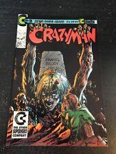 Crazyman#2 Incredible Condition 9.2(1992) Neal Adams Art!!