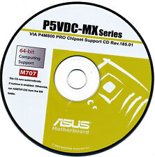 ASUS GENUINE VINTAGE ORIGINAL DISK FOR P5VDC-MX Motherboard Drivers Disk M707