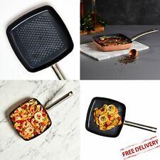 Copper Chef Black Diamond 9.5 Square Fry Pan Non-Stick Dishwasher Safe Grill
