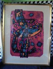 Alfred MANESSIER - Lithographie EA Epreuve d'artiste signée encadrée DN975