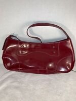 Womens Purse / Handbag / Shoulderbag - Louvier Paris   Glossy Red Design Bag