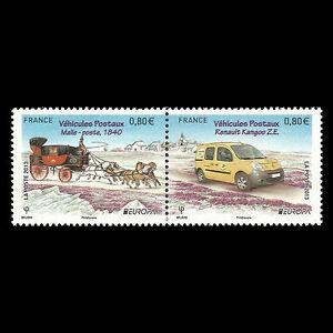 "France 2013 - EUROPA Stamps ""Postal Vehicles"" - Sc 4404a MNH"