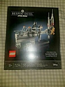 LEGO Star Wars Celebration Event Exclusive Bespin Duel Set (75294) CREASED BOX
